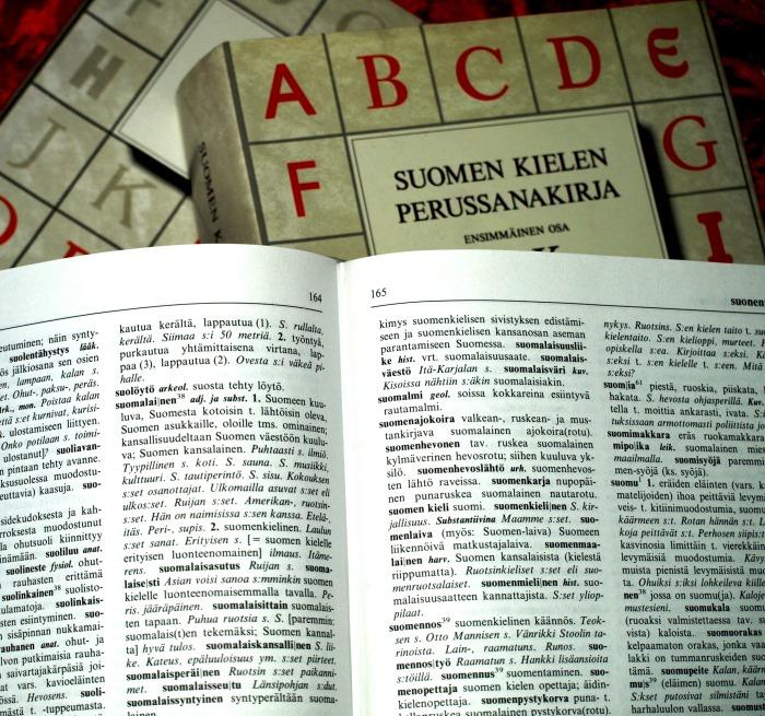 Suomi – äitini kieli, isänmaani ensimmäinen kieli, toinen äidinkieleni