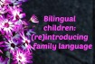 Reintroducing family language